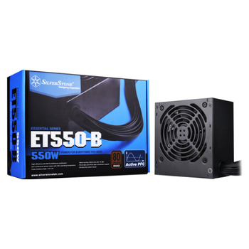 Product image of SilverStone Essential 550W 80Plus Bronze Power Supply  - Click for product page of SilverStone Essential 550W 80Plus Bronze Power Supply