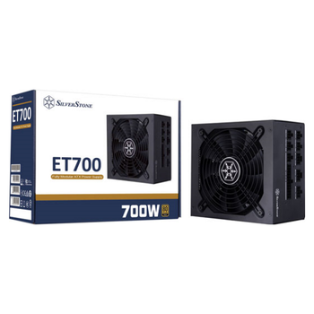 Product image of SilverStone Essential 700W 80Plus Gold Fully-Modular Power Supply - Click for product page of SilverStone Essential 700W 80Plus Gold Fully-Modular Power Supply