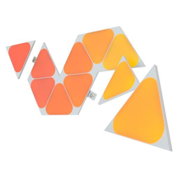 Product image of NANOLEAF Shapes Triangles Mini Expansion - 10 Pack - Click for product page of NANOLEAF Shapes Triangles Mini Expansion - 10 Pack
