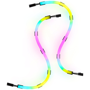 Product image of Corsair LS100 Smart Lighting Strips Expansion Kit 350mm - Click for product page of Corsair LS100 Smart Lighting Strips Expansion Kit 350mm