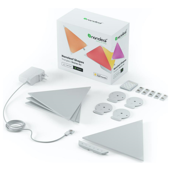 Product image of NANOLEAF Shapes Triangles Starter Kit - 4 Pack - Click for product page of NANOLEAF Shapes Triangles Starter Kit - 4 Pack
