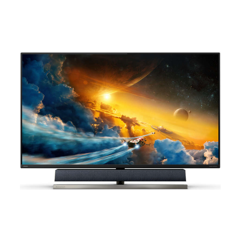 """A large main feature product image of Philips 558M1RY 55"""" UHD 4K FreeSync Premium Pro 120Hz 4MS HDR1000 VA LED Monitor"""