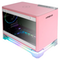 A small tile product image of EX-DEMO InWin A1 Plus Pink Mini-ITX Case w/ Tempered Glass Side Panel