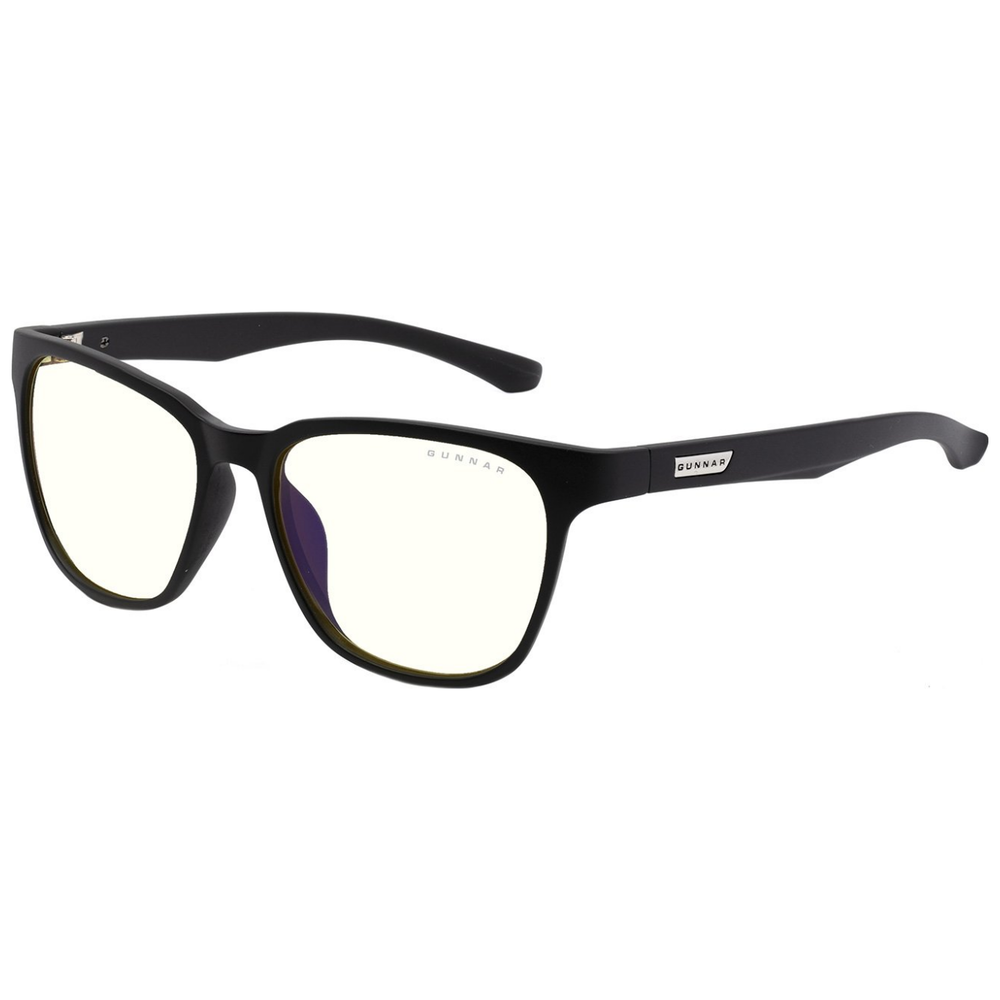 A large main feature product image of Gunnar BERKELEY ONYX clear Indoor Digital Eyewear