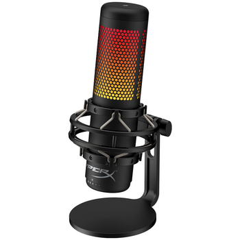 Product image of Kingston HyperX QuadCast S RGB USB Condenser Microphone - Click for product page of Kingston HyperX QuadCast S RGB USB Condenser Microphone
