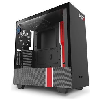 Product image of NZXT H510i Smart Mid Tower Case w/Tempered Glass Side Panel Mass Effect Edition - Click for product page of NZXT H510i Smart Mid Tower Case w/Tempered Glass Side Panel Mass Effect Edition