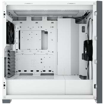 Product image of Corsair 5000D White Case w/ Tempered Glass Side Panel - Click for product page of Corsair 5000D White Case w/ Tempered Glass Side Panel