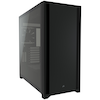 A product image of Corsair 5000D Black Case w/ Tempered Glass Side Panel