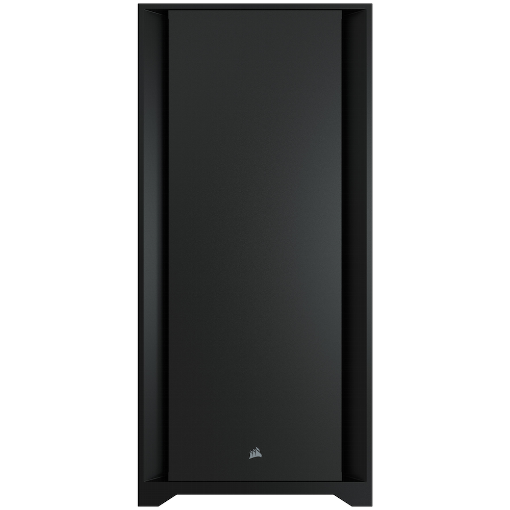 A large main feature product image of Corsair 5000D Black Case w/ Tempered Glass Side Panel