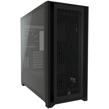 Product image of Corsair 5000D Airflow Black Case w/ Tempered Glass Side Panel - Click for product page of Corsair 5000D Airflow Black Case w/ Tempered Glass Side Panel