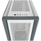 A small tile product image of Corsair 5000D Airflow White Case w/ Tempered Glass Side Panel