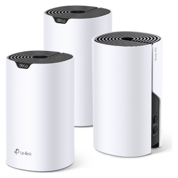 Product image of TP-LINK Deco S4 Wireless-AC1200 WiFi 5 Mesh Router - 3 Pack - Click for product page of TP-LINK Deco S4 Wireless-AC1200 WiFi 5 Mesh Router - 3 Pack