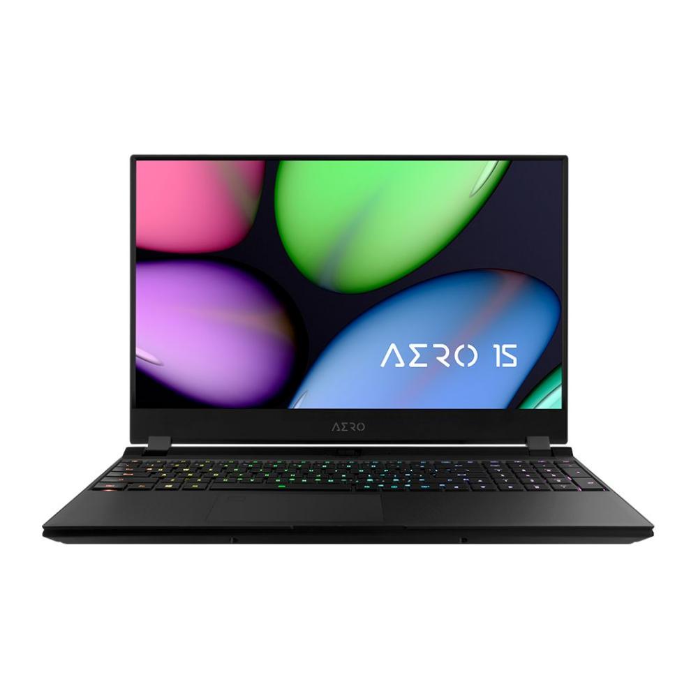 "A large main feature product image of Gigabyte Aero 15 XB-8AU51B0SP 15.6"" i7 RTX 2070 Super Windows 10 Pro Gaming Notebook"