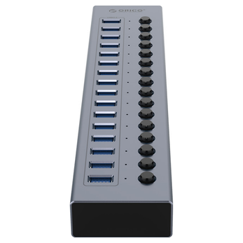 Product image of ORICO 16 Port USB3.0 Multi-Port USB Hub w/ Individual Switches - Click for product page of ORICO 16 Port USB3.0 Multi-Port USB Hub w/ Individual Switches
