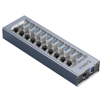 Product image of ORICO 10 Port USB3.0 Multi-Port USB Hub w/ Individual Switches - Click for product page of ORICO 10 Port USB3.0 Multi-Port USB Hub w/ Individual Switches