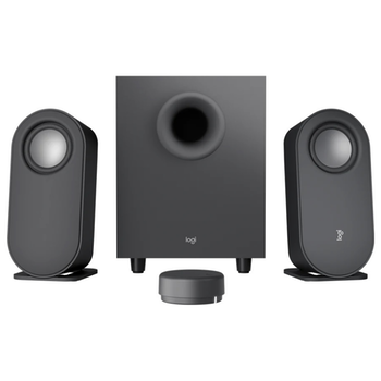 Product image of Logitech Z407 Bluetooth Computer Speakers with Subwoofer - Graphite - Click for product page of Logitech Z407 Bluetooth Computer Speakers with Subwoofer - Graphite