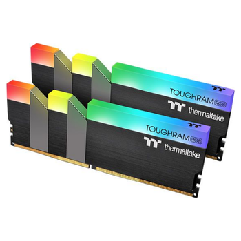 Product image of Thermaltake 16GB Kit (2x8GB) DDR4 ToughRAM RGB C19 4600Mhz - Click for product page of Thermaltake 16GB Kit (2x8GB) DDR4 ToughRAM RGB C19 4600Mhz