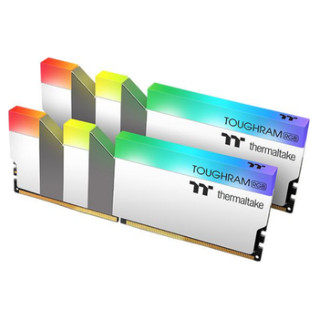 Product image of Thermaltake 16GB Kit (2x8GB) DDR4 ToughRAM RGB C19 4000Mhz White Edition - Click for product page of Thermaltake 16GB Kit (2x8GB) DDR4 ToughRAM RGB C19 4000Mhz White Edition