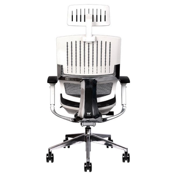 Product image of Thermaltake E500 CyberChair Ergonomic Gaming Chair White Edition - Click for product page of Thermaltake E500 CyberChair Ergonomic Gaming Chair White Edition