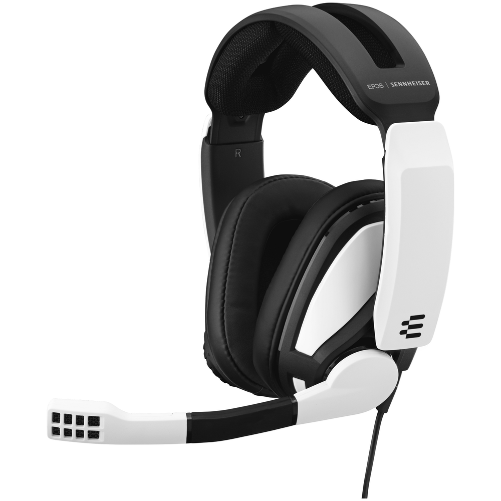 A large main feature product image of EPOS Gaming GSP 301 Gaming Headset