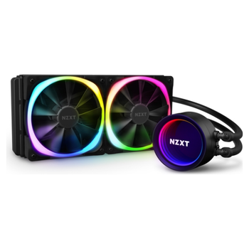 Product image of NZXT Kraken X53 RGB 240mm AIO Liquid CPU Cooler - Click for product page of NZXT Kraken X53 RGB 240mm AIO Liquid CPU Cooler