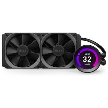 Product image of NZXT Kraken Z53 240mm AIO Liquid CPU Cooler - Click for product page of NZXT Kraken Z53 240mm AIO Liquid CPU Cooler