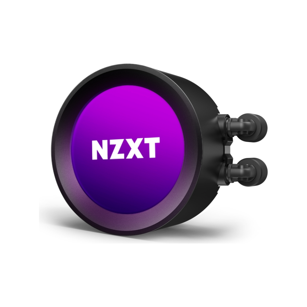 A large main feature product image of NZXT Kraken Z53 240mm AIO Liquid CPU Cooler