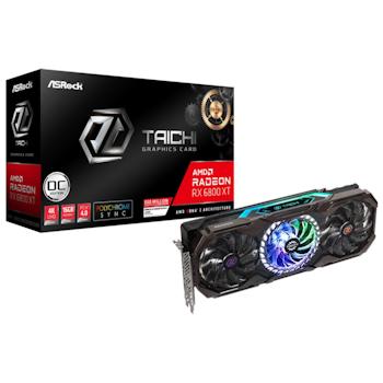 Product image of ASRock Radeon RX 6800 XT Taichi X OC 16GB GDDR6 - Click for product page of ASRock Radeon RX 6800 XT Taichi X OC 16GB GDDR6