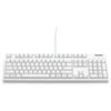 A product image of Filco Majestouch 2 Hakua Bluetooth/USB Mechanical Keyboard (Brown Switch)