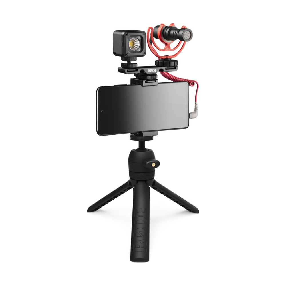 A large main feature product image of RODE Vlogger Universal Kit
