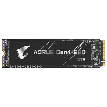 Product image of Gigabyte Aorus Gen4 2TB NVMe M.2 SSD - Click for product page of Gigabyte Aorus Gen4 2TB NVMe M.2 SSD