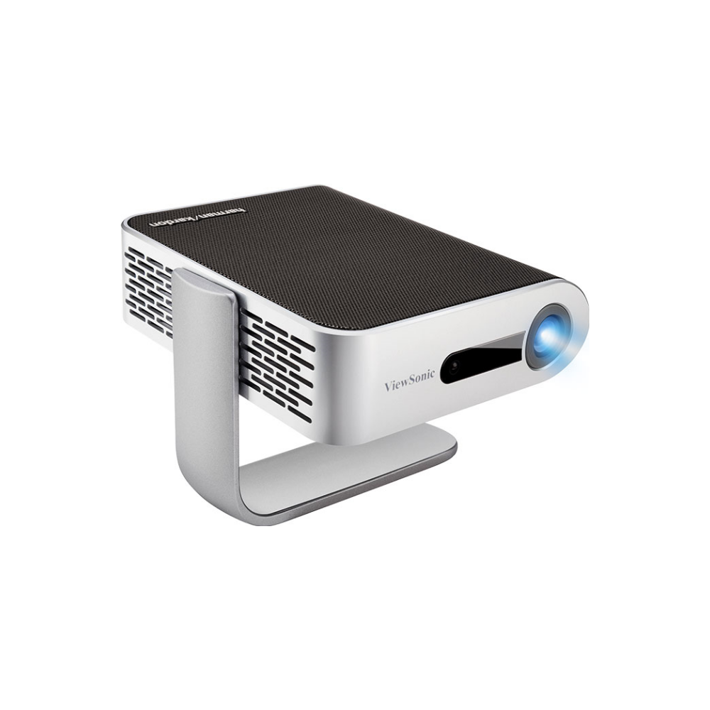 A large main feature product image of ViewSonic M1 Plus G2 Portable LED Projector