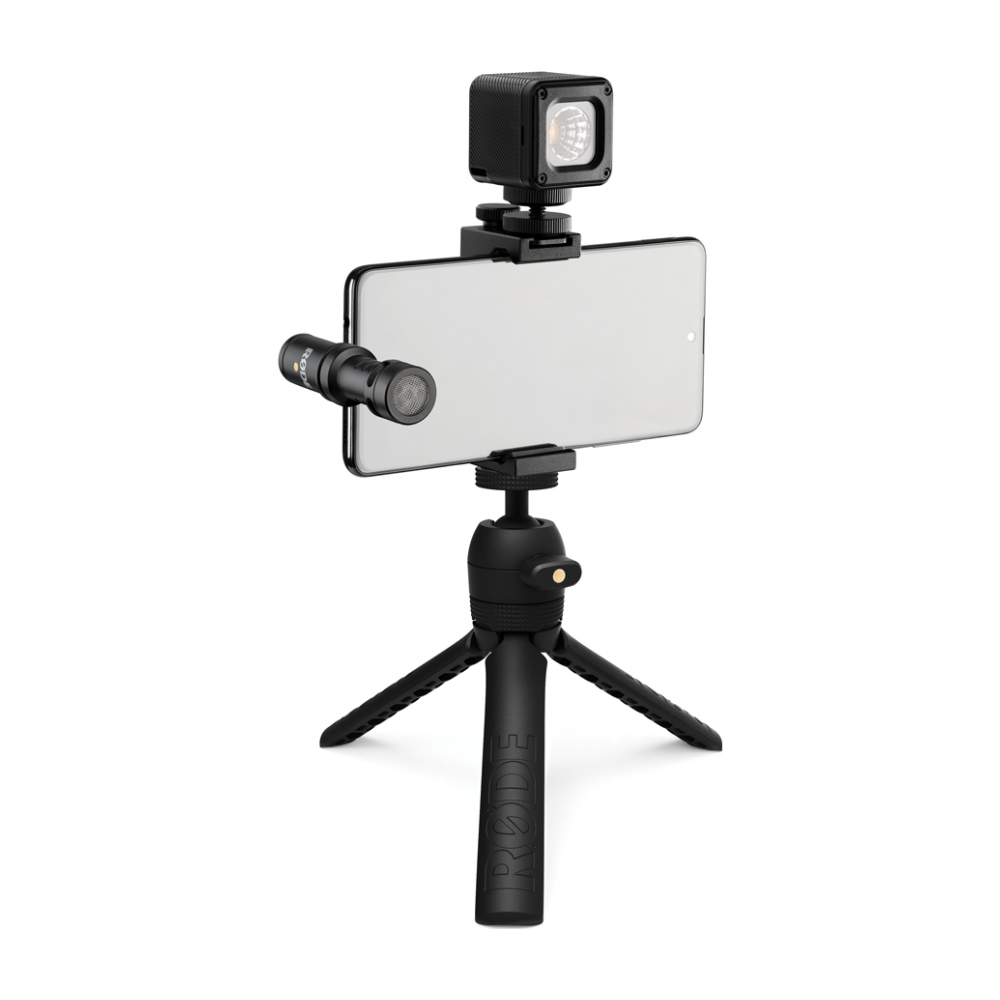 A large main feature product image of RODE Vlogger Kit USB-C Edition
