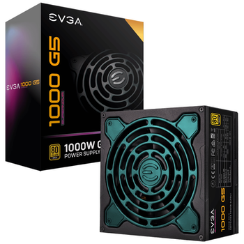 Product image of eVGA SuperNOVA G5 1000W 80Plus Gold Fully Modular Power Supply - Click for product page of eVGA SuperNOVA G5 1000W 80Plus Gold Fully Modular Power Supply