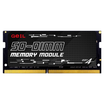 Product image of GeIL 16GB DDR4 SO-DIMM 1.2V C22 3200MHz - Click for product page of GeIL 16GB DDR4 SO-DIMM 1.2V C22 3200MHz