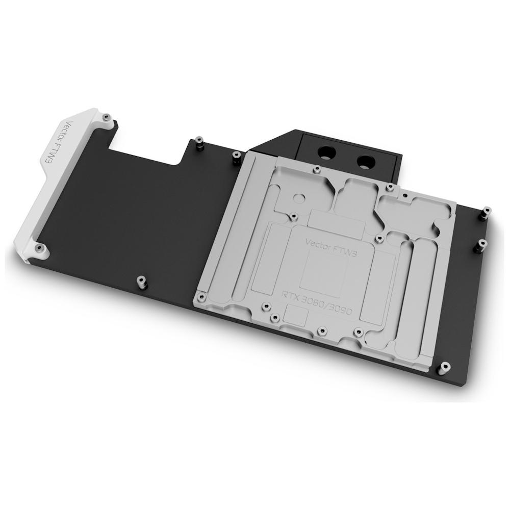 A large main feature product image of EK-Quantum Vector FTW3 RTX 3080/3090 D-RGB - Nickel + Acetal