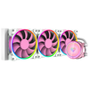 A product image of ID-COOLING PinkFlow 360 Addressable RGB AIO CPU Liquid Cooler