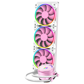 Product image of ID-COOLING PinkFlow 360 Addressable RGB AIO CPU Liquid Cooler - Click for product page of ID-COOLING PinkFlow 360 Addressable RGB AIO CPU Liquid Cooler