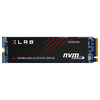 A product image of PNY XLR8 500GB NVMe PCIe Gen 3 M.2 SSD