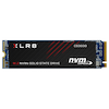 A product image of PNY XLR8 250GB NVMe PCIe Gen 3 M.2 SSD