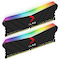 A small tile product image of PNY XLR8 16GB (2x8GB) EPIC-X RGB Gaming DDR4 C18 3600Mhz - Black Edition
