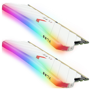Product image of PNY XLR8 16GB (2x8GB) EPIC-X RGB Gaming DDR4 C16 3200Mhz - White Edition - Click for product page of PNY XLR8 16GB (2x8GB) EPIC-X RGB Gaming DDR4 C16 3200Mhz - White Edition