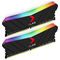 A small tile product image of PNY XLR8 16GB (2x8GB) EPIC-X RGB Gaming DDR4 C16 3200Mhz - Black Edition