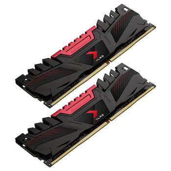 Product image of PNY XLR8 32GB (2x16GB) DDR4 C16 3200MHz - Click for product page of PNY XLR8 32GB (2x16GB) DDR4 C16 3200MHz