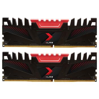 Product image of PNY XLR8 16GB (2x8GB) DDR4 C16 3200MHz - Click for product page of PNY XLR8 16GB (2x8GB) DDR4 C16 3200MHz