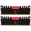 A product image of PNY XLR8 16GB (2x8GB) DDR4 C16 2666MHz