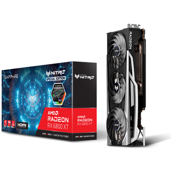 Product image of Sapphire Radeon RX 6800 XT NITRO+ SE 16GB GDDR6 - Click for product page of Sapphire Radeon RX 6800 XT NITRO+ SE 16GB GDDR6