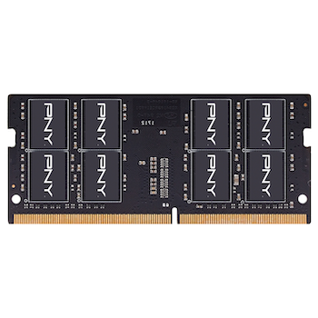 Product image of PNY Performance 16GB DDR4 C19 1.2v SO-DIMM 2666Mhz - Click for product page of PNY Performance 16GB DDR4 C19 1.2v SO-DIMM 2666Mhz