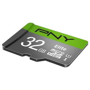 Product image of PNY 32GB Elite Class 10 U1 MicroSD Card - Click for product page of PNY 32GB Elite Class 10 U1 MicroSD Card