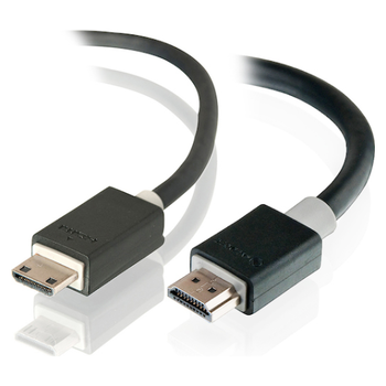 Product image of EX-DEMO ALOGIC Pro Series High Speed Mini HDMI to HDMI with Ethernet 2m Cable v2.0 - Click for product page of EX-DEMO ALOGIC Pro Series High Speed Mini HDMI to HDMI with Ethernet 2m Cable v2.0